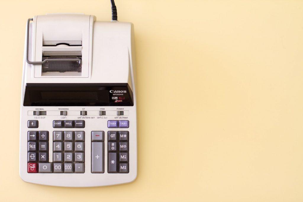 rekenmachine-met-bon